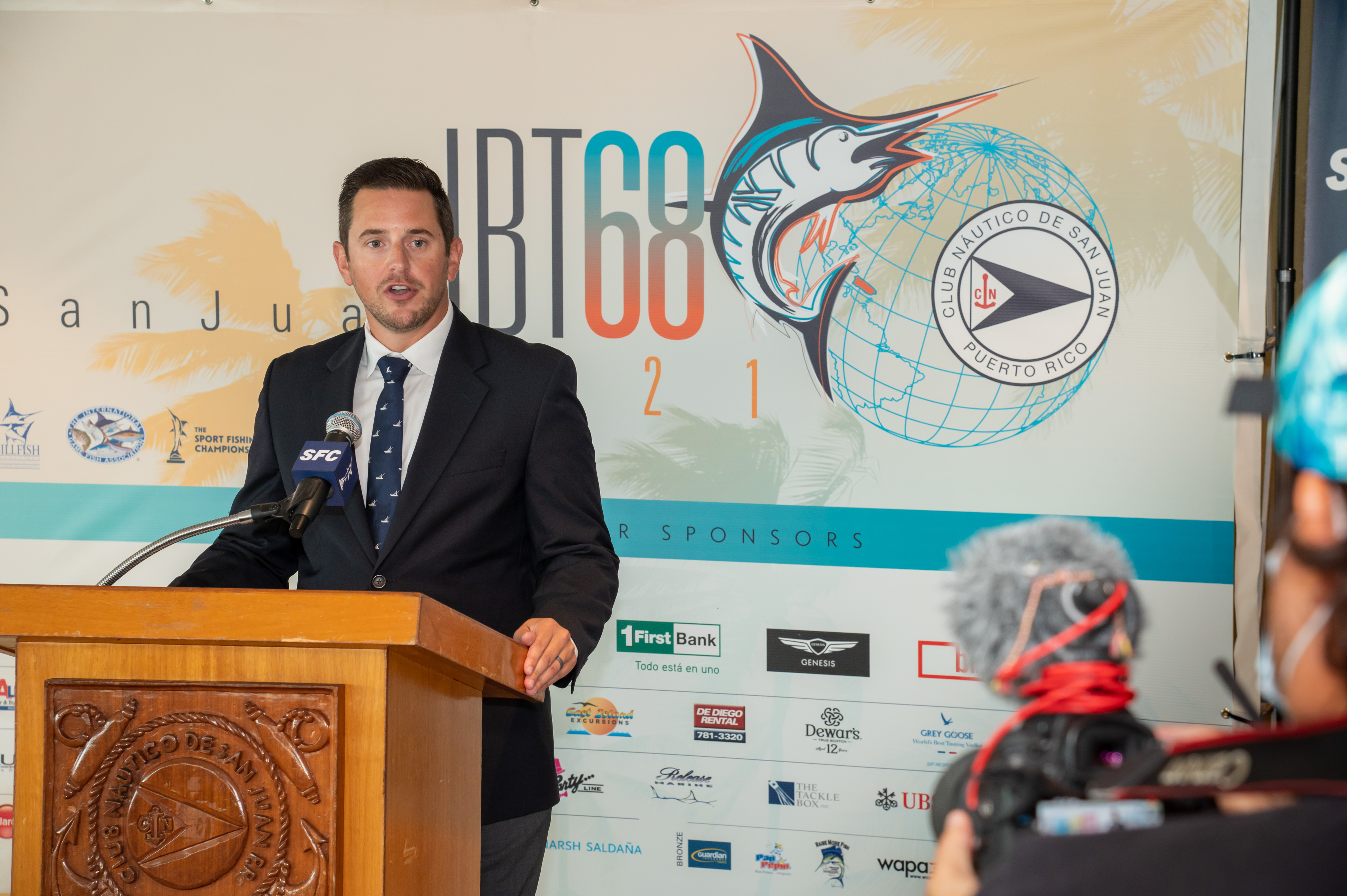 08.16.21 press conference for the CNSJ 68thIBT - 68th International Billfish Tournament , which runs from August 17 - 21, 2021.